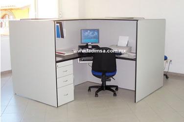 Muebles para oficina escritorios recepciones for Empleo mobiliario oficina